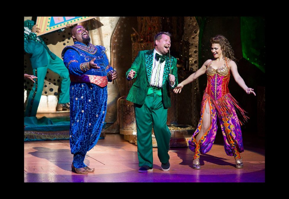 Aladdin Cameo - James Monroe Igelhart - James Corden - Kathryn Terza - Jenny Anderson - 9.9.16