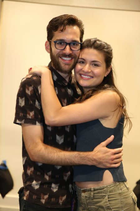 adam chanler berat - Phillipa Soo - Amelie - photo Joan Marcus - 10/16