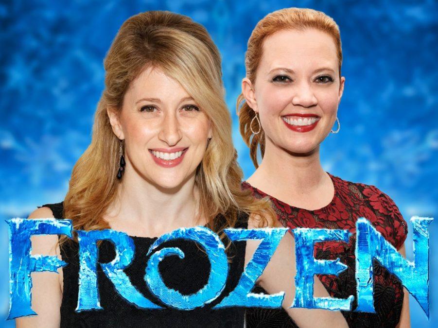 Frozen Casting - Caissie Levy - Patti Murin - 2/17 - Emilio Madrid-Kuser - Disney