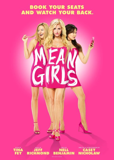 SHOW POSTER - MEAN GIRLS - 9/17 - Mary Ellen Matthews