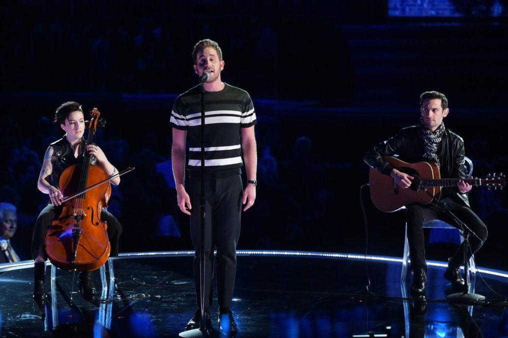 GETTY - Adele Stein - Ben Platt  - Justin Goldner - Grammy Awards - 1/18 - Kevin Winter/Getty Images