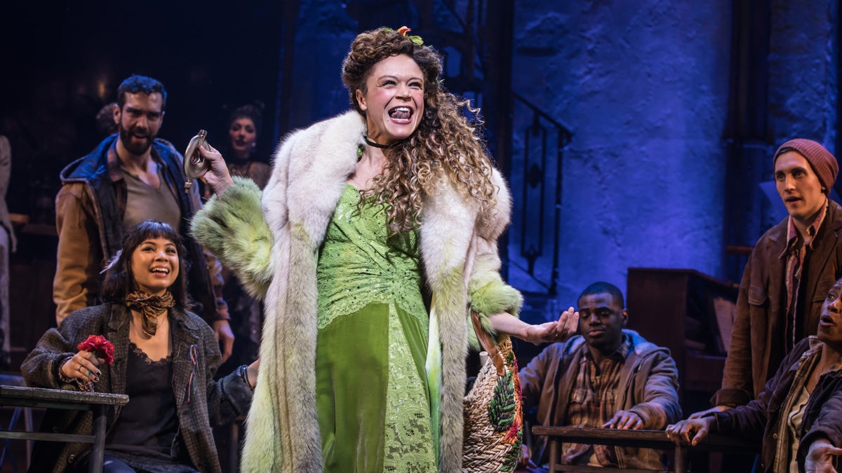 Show Photos - Hadestown - 4/19 - Amber Gray - Photo: Matthew Murphy